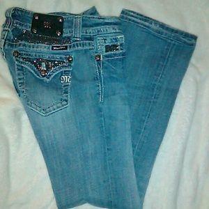 💥EUC Miss Me Bootcut Jeans size 28 💥
